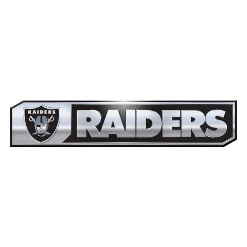 Oakland Raiders Auto Emblem Truck Edition 2 Pack