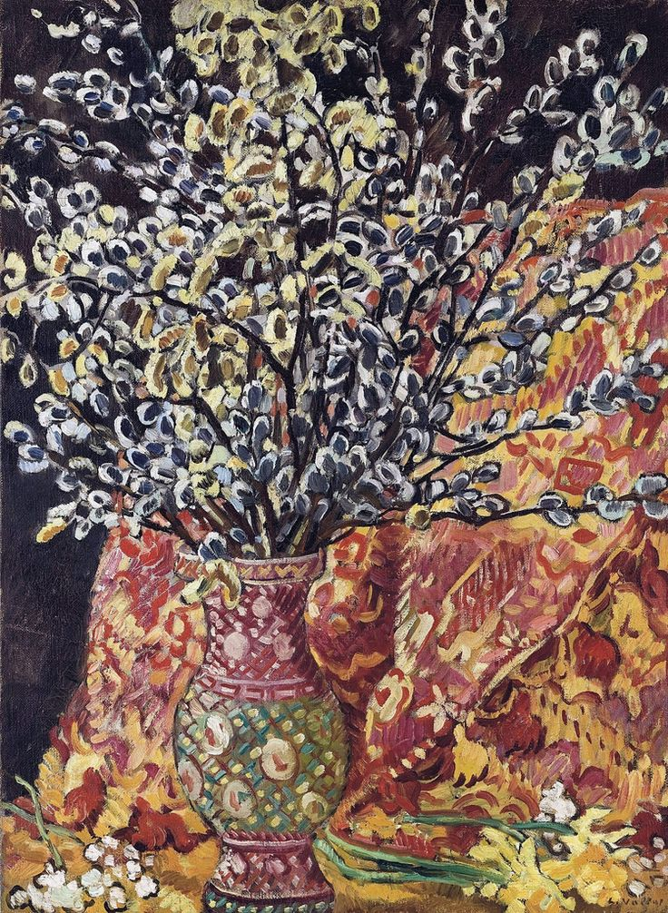 Vase of Flowers 01. Louis Valtat