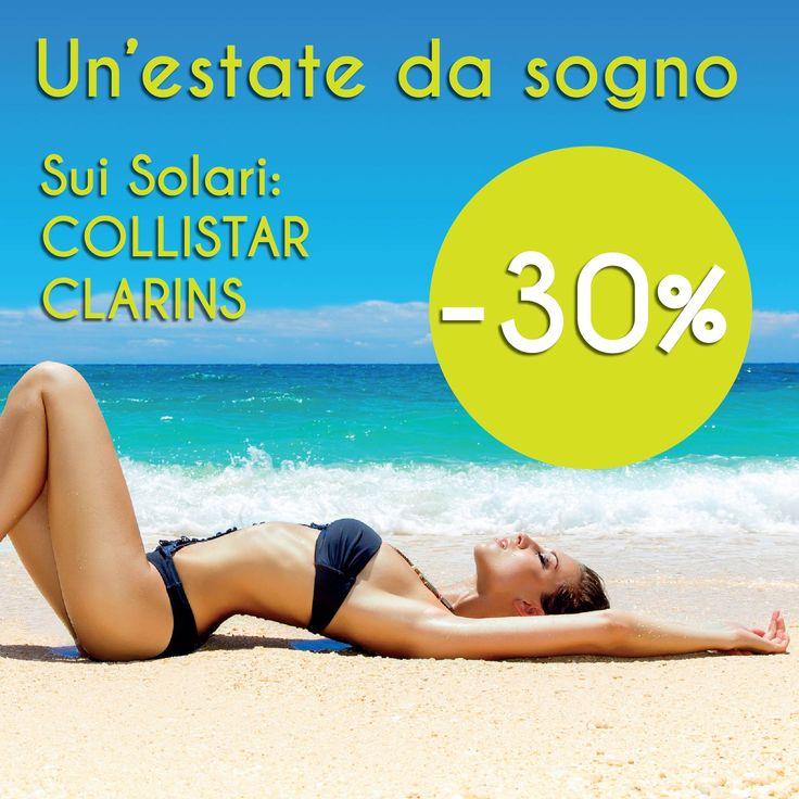 Collistar Clarins al £0% meno sul nostro www.shopmastriprofumieri.it