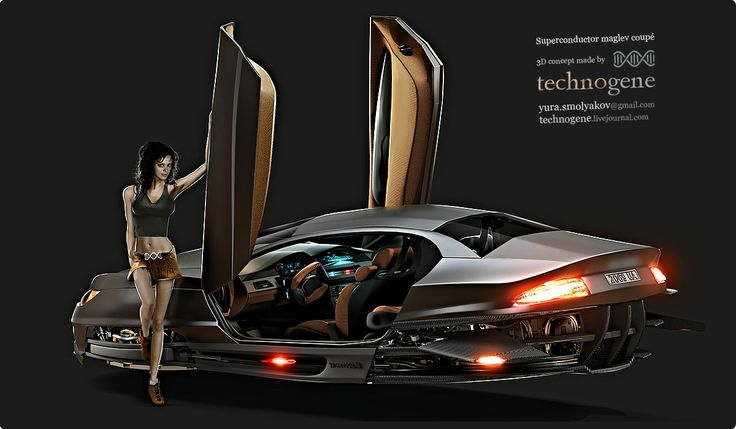 Maglev car concept | Planes Trains Automobiles SpaceShips and of ...