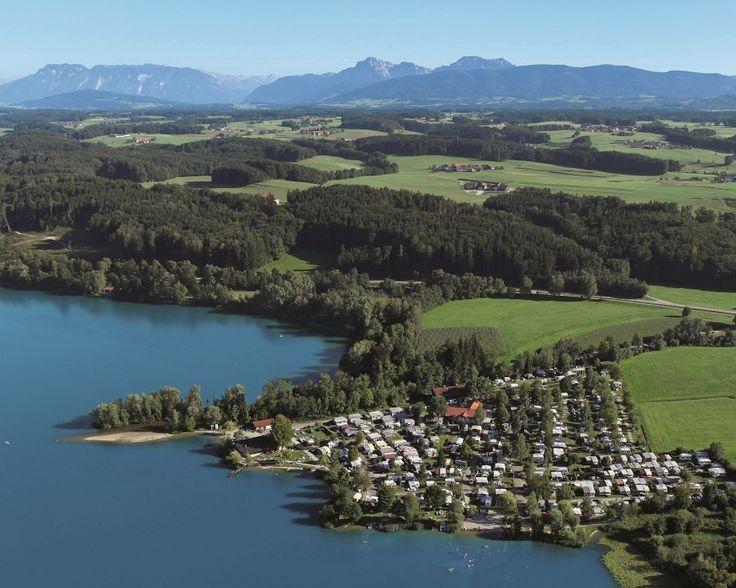 Camping Schwanenplatz in Waging/Gaden | Beieren | Duitsland - Bekijk informatie en foto's