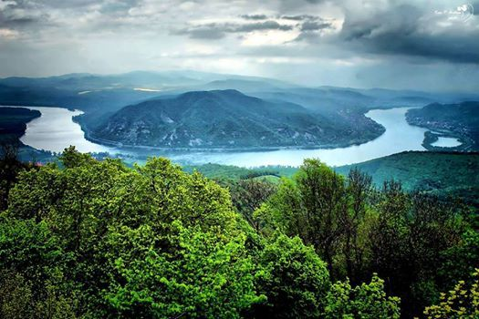 The Danube bend, Hungary