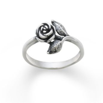 Small Rose Ring: James Avery
