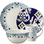 Rachael Ray Ikat Dinnerware. Shop AllModern for Dinnerware Sets for the best selection in modern design.  Free shipping on all orders over $49.