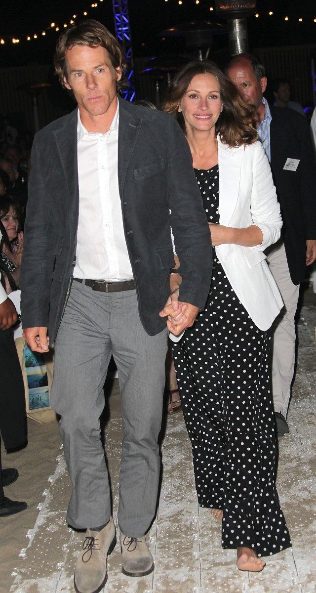 Julia Roberts and Daniel Moder