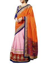 multi colored  Georgette embroidered saree - Online Shopping for Sarees
