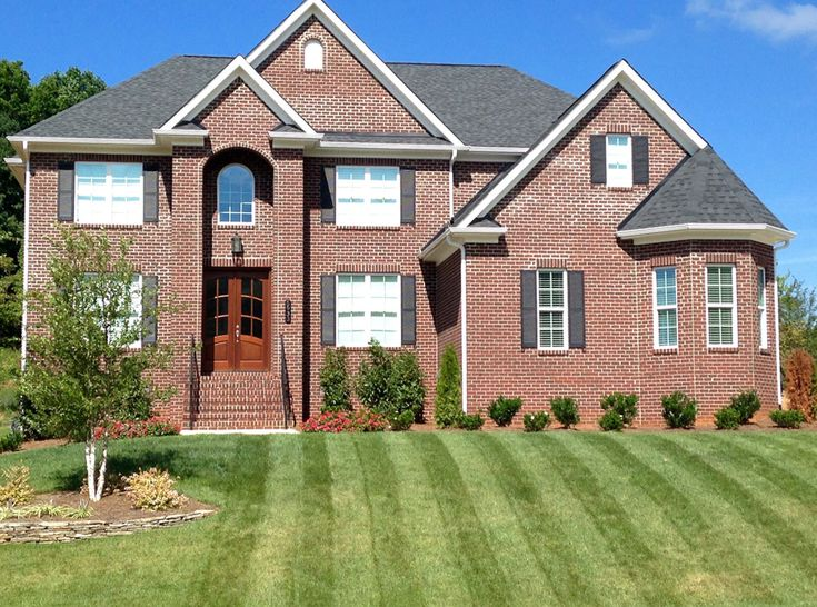 gunter homes design greensboro nc chose pine hall bricks richmond hill face. Interior Design Ideas. Home Design Ideas