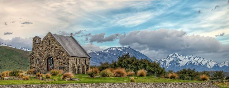 It may be small, but it's a wonderfull small church with the most beautiful view possible. I find it hard to imagine a more beautiful view. Photo by: Jacob Surland, www.caughtinpixels.com.