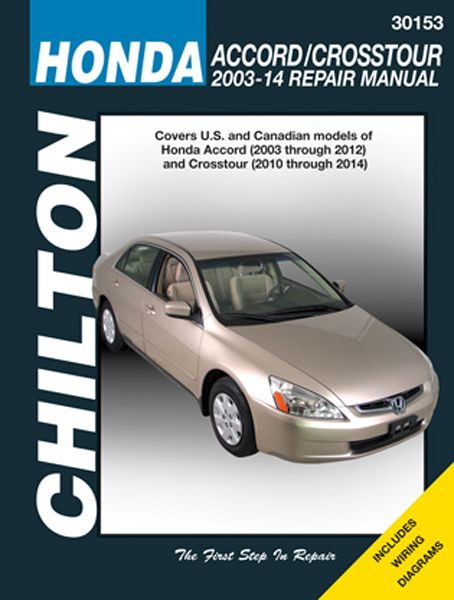 #carparts #autoparts Chilton Repair Manual For Honda Accord 2003-2014: Total Car Care is the most complete step-by-step… #truckparts