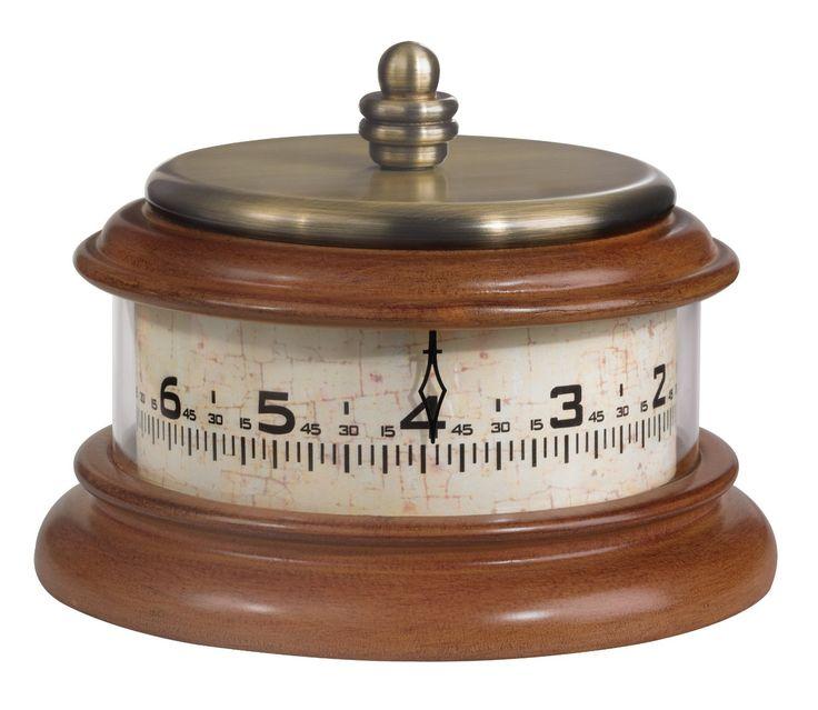 Amazon.com - Bulova B2626 Tolland Clock, Antique Brass Finish -