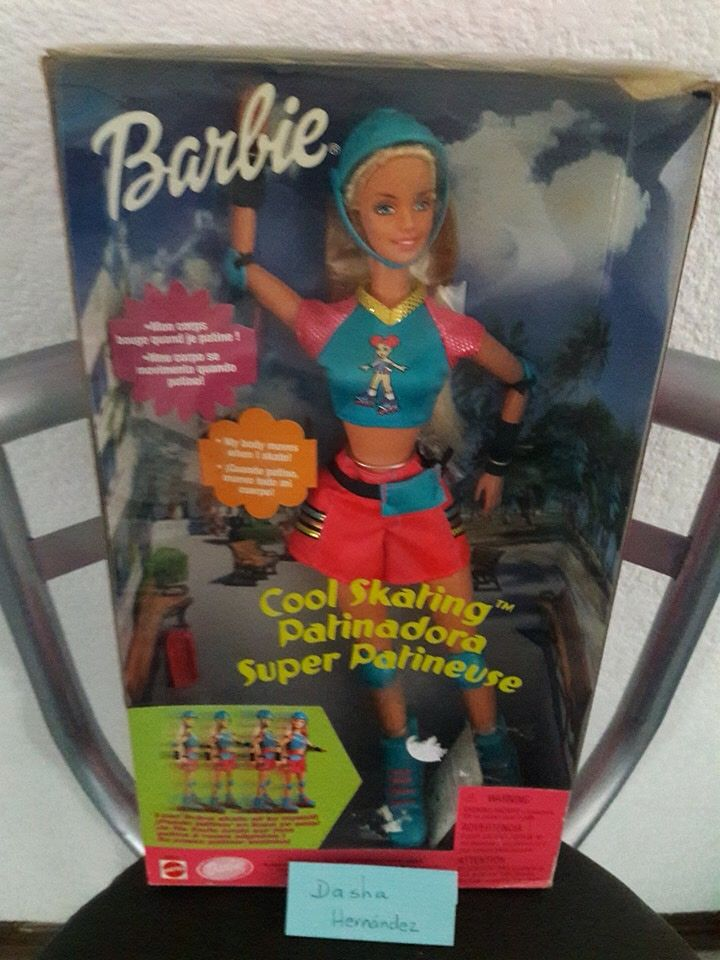 Barbie patinadora