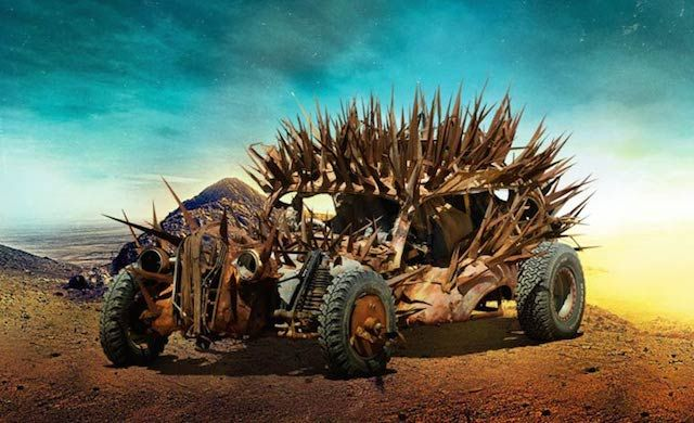 http://www.fubiz.net/2015/05/06/the-cars-of-mad-max-fury-road/
