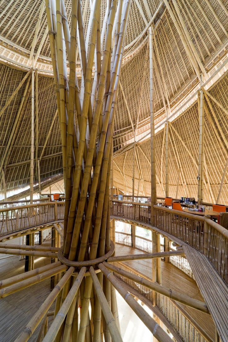 Bamboo structure the bamboo structure is suited - Bamboo Structure Green School Bali John Hardy
