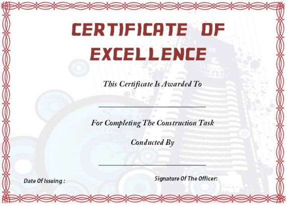 55 best Certificate of Completion Templates images on Pinterest ...
