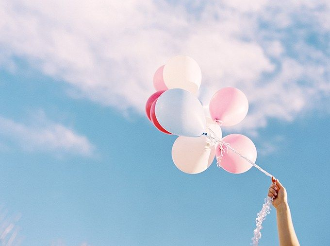 Rose Quartz & Serenity Helium Balloon Bouquet   My 1st Blogiversary + 10 Things I Learned in my First Year of Blogging // JustineCelina.com