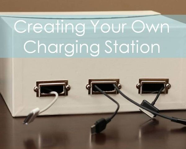 Creating Your Own Charging Station Diy Stuff Pinterest