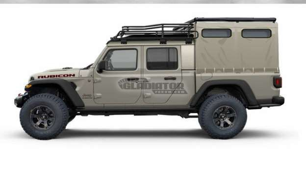 2020 Jeep Gladiator Rendered With All Sorts Of Bed Toppers Jeep