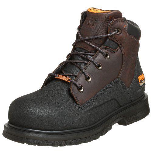 """Timberland PRO Men's 47001 Power Welt Waterproof 6"""" Steel-Toe Boot"""