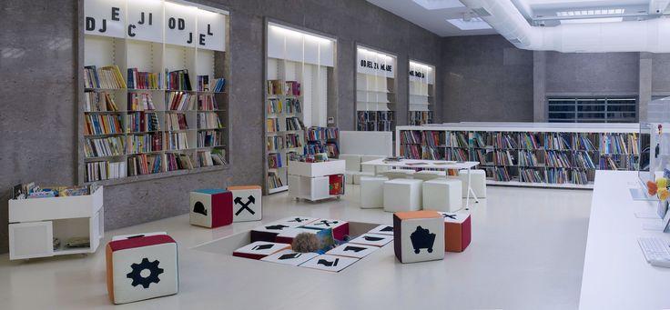 Biblioteca Pública en Labin / Ivana Žalac, Margita Grubiša, Igor Presečan i Damir Gamulin
