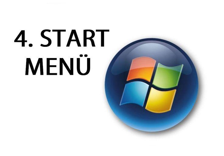 Számítógép kezelői tanfolyam kezdőknek 4. - start menü