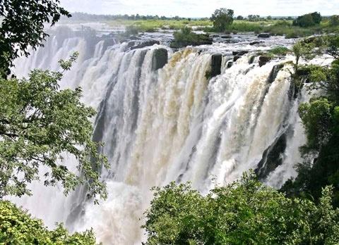 Democratic Republic of the Congo, Africa: Livingstone Falls