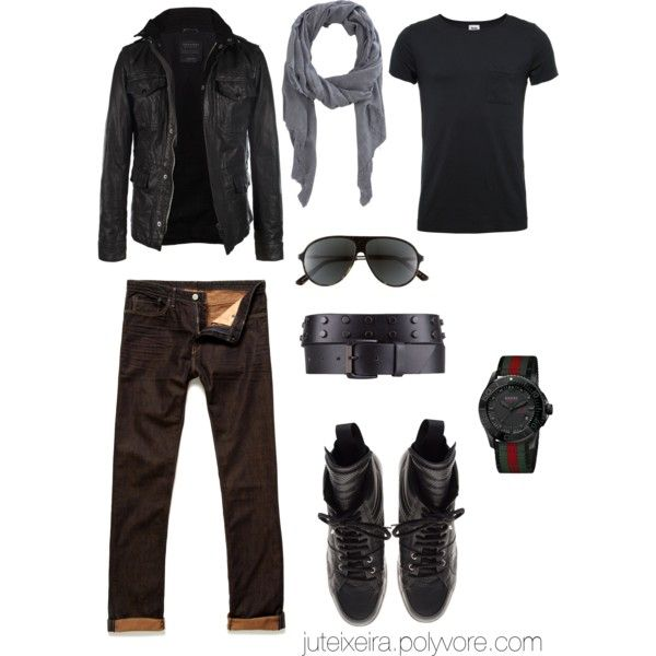 Men in Black, created by juteixeira on Polyvore