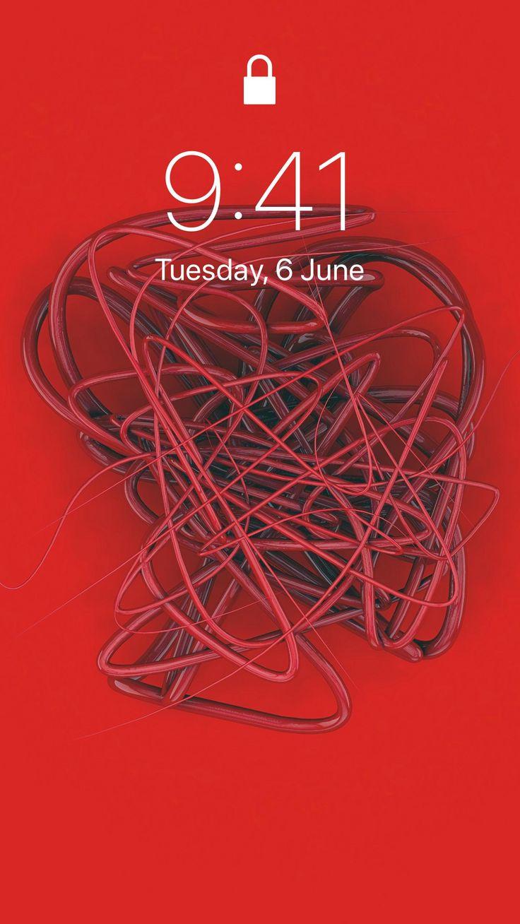 spline wire tangled background HD iPhone iPad – Kirito485