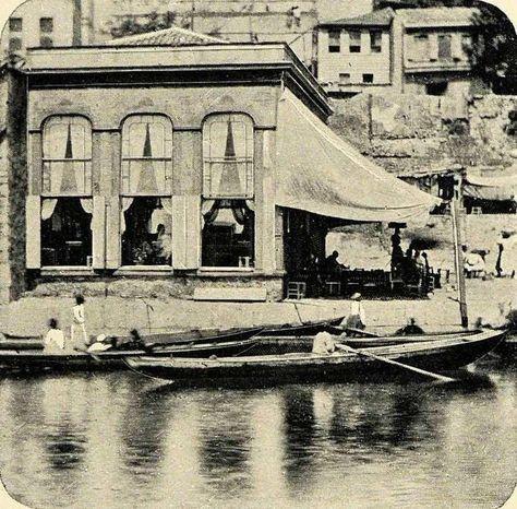 Haliç ve Kahvehane 1901