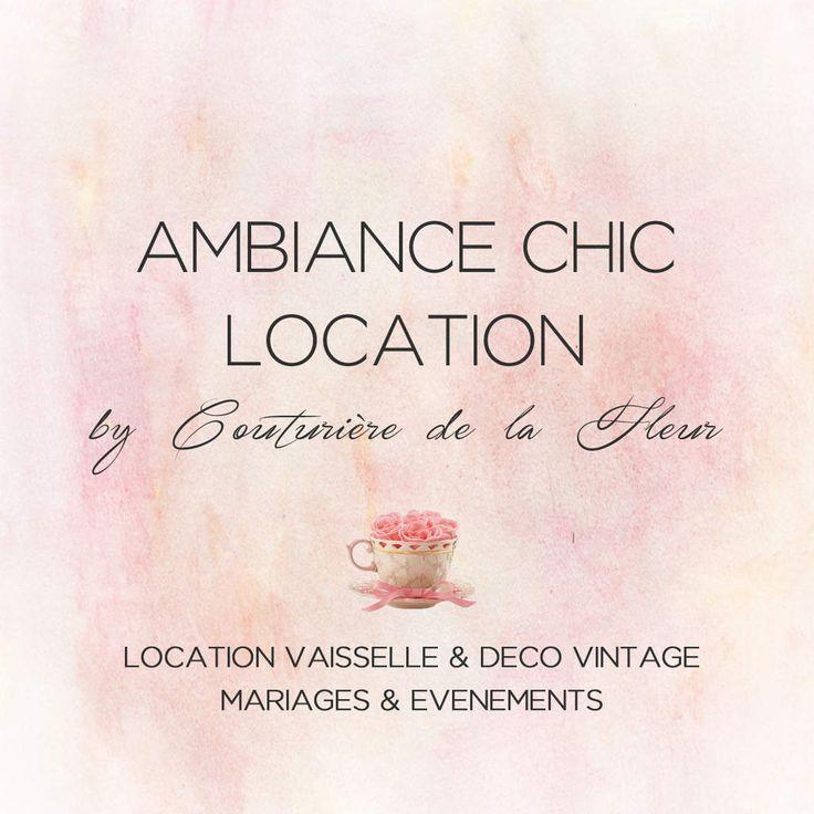 Ambiance Chic Location, location vaisselle et déco vintage à Montpellier Nous vous en parlions voici quelques semaines : Couturière de la Fleur vient de développer un service de location mariage : AMBIANCE CHIC LOCATION. En attendant le site qui est encore...