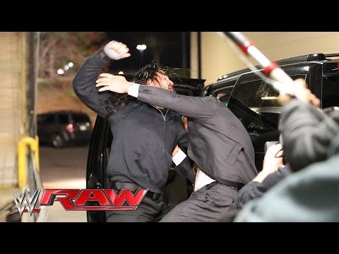 Roman Reigns halts The Authority's escape: Raw - My Videos Update