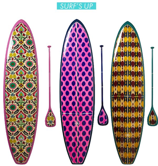 Stand Up paddle boards by anthropologie >> I love paddle boarding! Have you tried it?