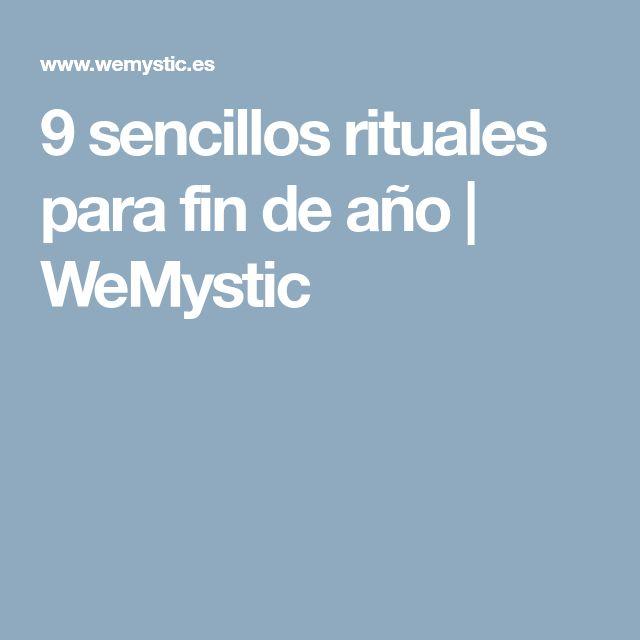 9 sencillos rituales para fin de año | WeMystic