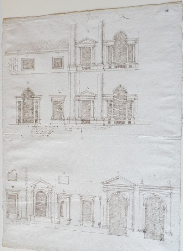 Inigo Jones Designs For Somerset House London House Drawing Somerset Design