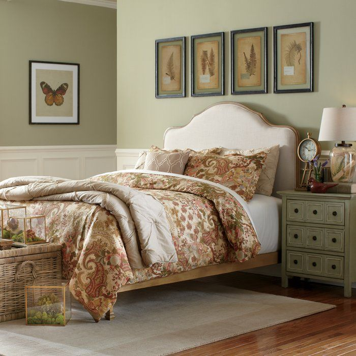 Whether it's in a first apartment or updated guest suite, this lovely bed brings a stylish touch to any space. Top it with a fluffy comforter for a resort-worthy feel, or add colorful sheets and pillows for a boho retreat.