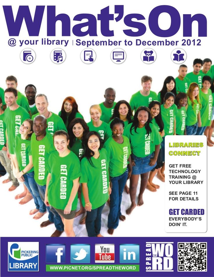 Whats On September to December 2012 by Pickering Public Library via slideshare