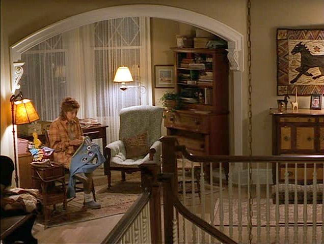 "Second floor landing in Susan Sarandon's ""Stepmom"" Victorian"