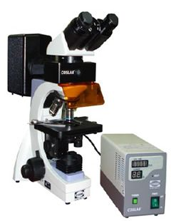 A fluorescence microscope is a microscope. The technique is used to study specimens, which can be made to fluorescence. The method used by all fluorescence microscopes is same.   http://www.lab360.co.in/microscopes-telescopes.htm