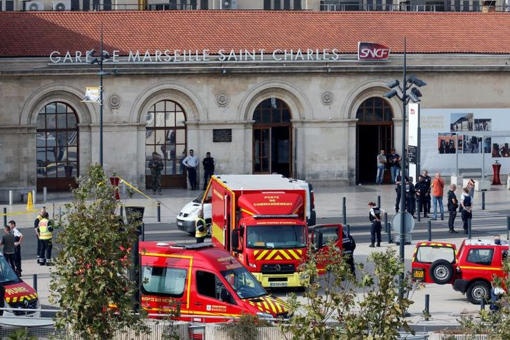 """MARSEILLE, France/PARIS (Reuters) – Two women were stabbed to death and their assailant shot dead by a soldier in the southern French port city of Marseille on Sunday in what officials described as a """"likely terrorist act"""".  Police sources said the suspect had shouted """"Allahu Akbar"""" (God... - #Akbar, #Allahu, #Dead, #Killing, #Knifeman, #News, #Shot, #Yelling"""