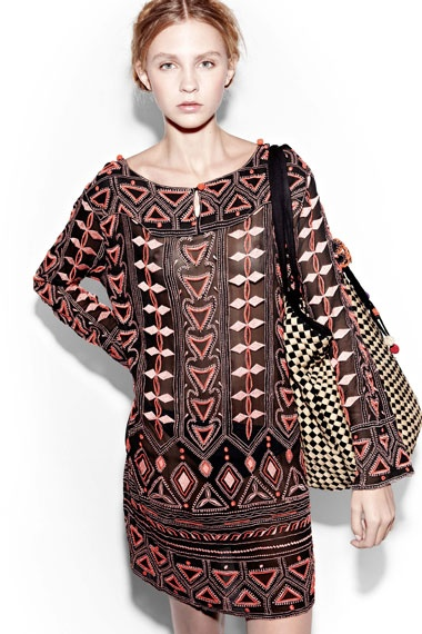 antik batik ( don't think I could pull it off on a normal day, but it would make a cute maternity top)