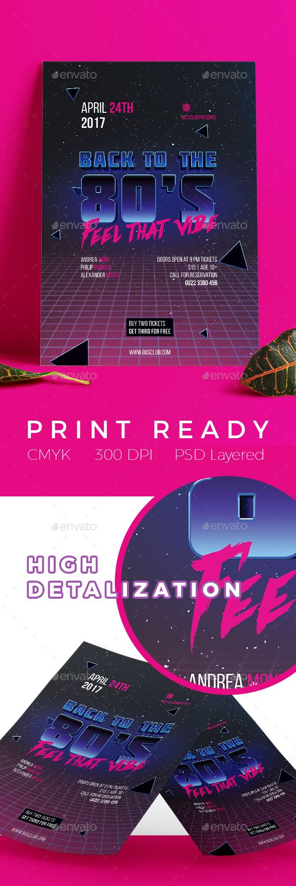 A Modern Professional And Clean Flyer Poster Template Will