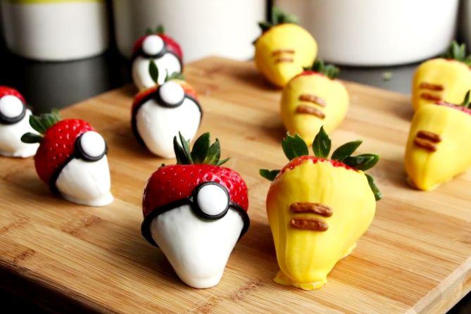 Pokemon Go Dessert Recipes: Pikachu, Pokeballs & More