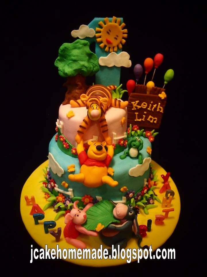 Images Of A Fancy Birthday Cake