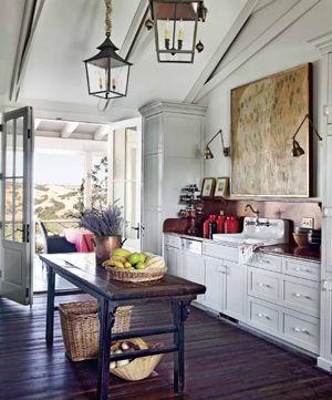 Interior Designer Dede Woodu0027s Kitchen Featured In Santa Barbara Magazine