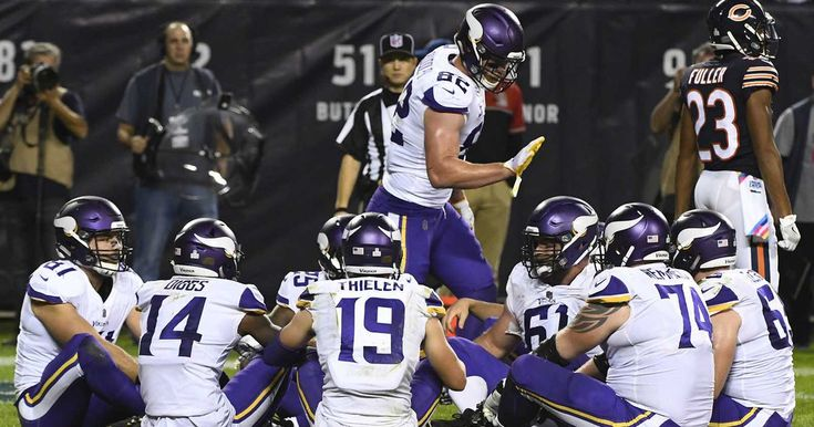 Even Minnesota Vikings head coach Mike Zimmer shared his thoughts about the brilliant touchdown celebration from Monday night's win over the Chicago Bears.