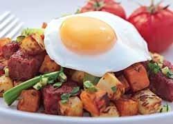American Hash Brunch http://www.foodinaminute.co.nz/Recipes/American-Hash-Brunch#