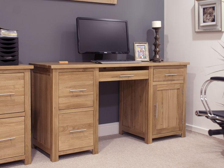 Malibu Pedestal Office Desk And Filing