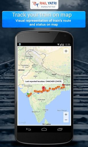 Official App of RailYatri. Indian railways travelers can now get PNR status, train time tables, Train Enquiry and more through our app.Highlights of the RailYatri indian railways PNR status app ================================== 1. GPS based live Train enquiry - includes map view. 2. PNR Status – plus confirmation predictions 3. Time Tables - with Offline access, Platform numbers, Seat availability, on-time score of trains at stations. 4. Coach positions, Seat Layout and be...