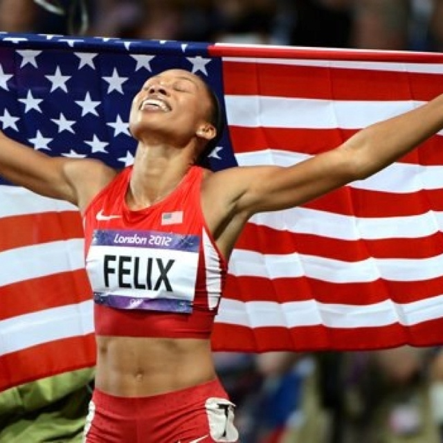 With hard work and dedication, dreams do come true!: Olympics Gold, Felix Win, London 2012, Olympics Pride, Sports Photo, Win Gold, Allyson Felix, London Olympics, Allysonfelix