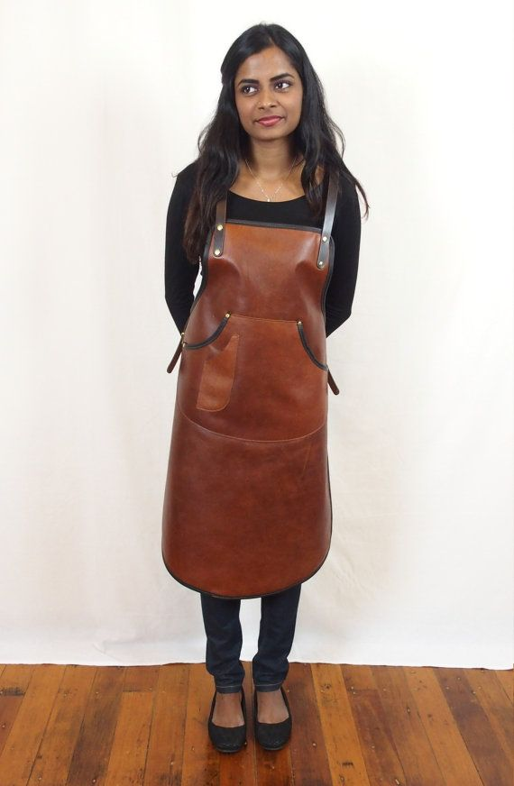 Handcrafted Leather Apron Ladies Cut By Studiobt On Etsy
