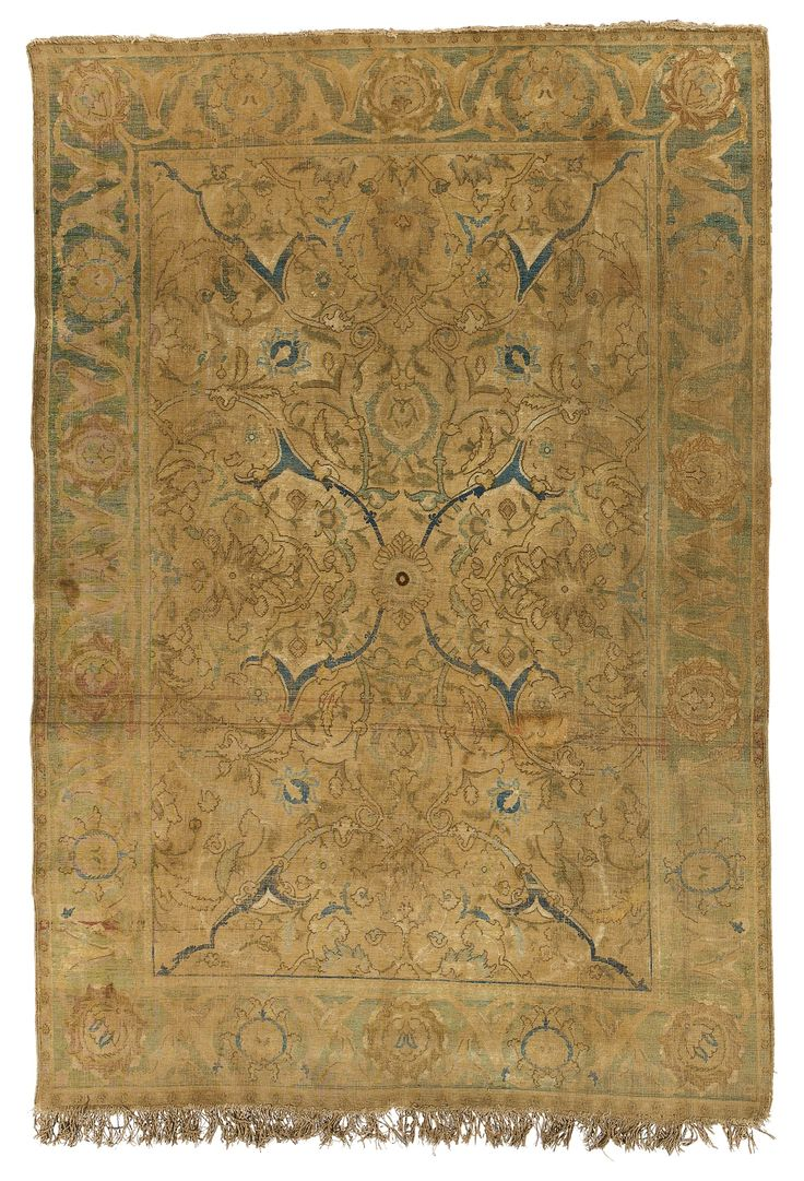 Polonaise antique oriental rugs -  Polonaise Silk Rug Isphahan Or Kashan Central Persia Approximately By By Century